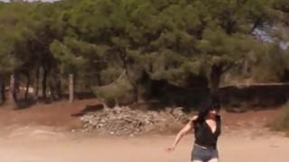 Fake cop anal fucks Spanish amateur babe