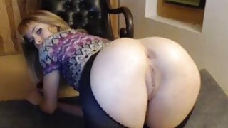 Gorgeous Blode With Pantyhose Demands To Be Taken From Behind