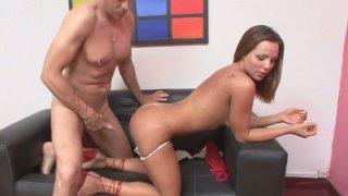 Lady with dick Mariana gets her anus analyzed