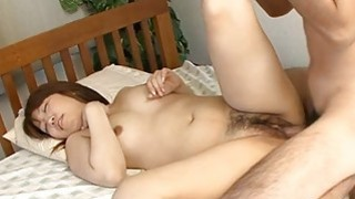 Sultry oriental thrills with cowgirl and wet oral