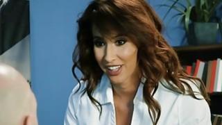 Latina office milf Isis Love leaks valuable company info