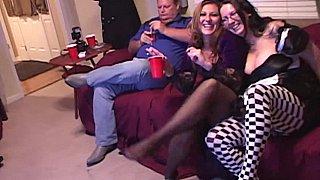 Pantyhose party